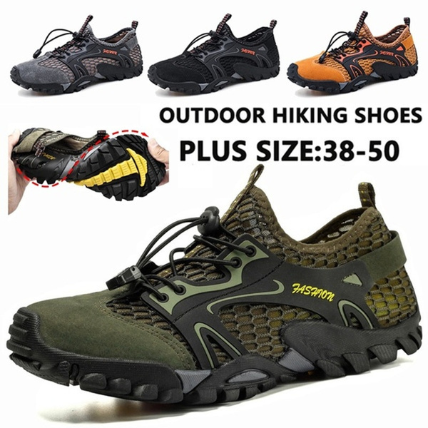 Summer Hiking Shoes for Men Mesh Trail