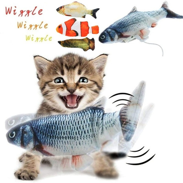 cattoy, electricfish, catdancingfish, dancingfish