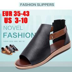 Sandals, Ladies Fashion, leather, Vintage