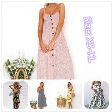 Summer, Fashion, long dress, Beach