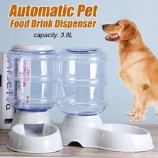 water, Capacity, automaticfeeder, Pets