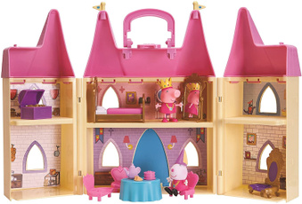 Playsets, peppa, Princess, Castle