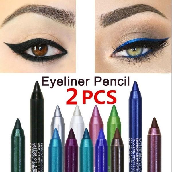 pencil, colorfuleyeliner, eye, Beauty