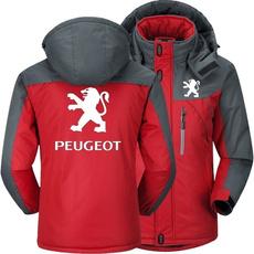 peugeotjacket, Fleece, Plus Size, Winter