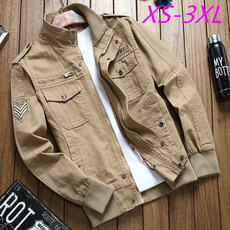 Stand Collar, fashion clothes, Fashion, Casual Jackets