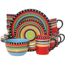 Set, Colorful, handpainted, Cooking