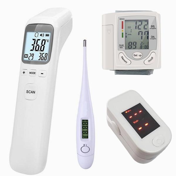 fingerpulseoximeter, Monitors, fingeroximeter, foreheadthermometer