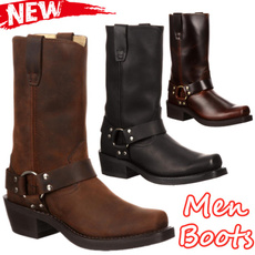 midcalfboot, Winter, Cowboy, leather
