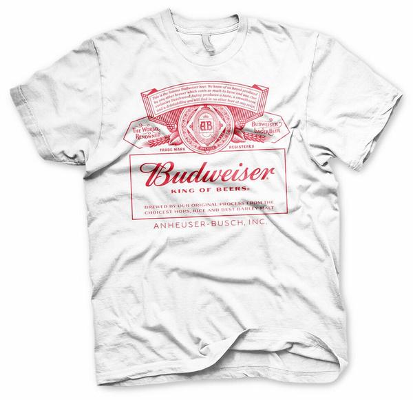 Summer, Shirt, unisex, budweiser