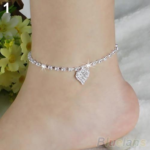 Heart, Sandals, Star, Jewelry