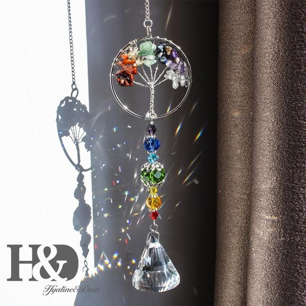 crystalpendantdecor, rainbow, Jewelry, diypendant