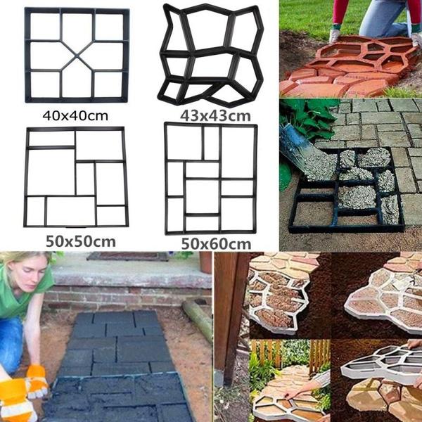 Decor, Garden, stonemold, paving