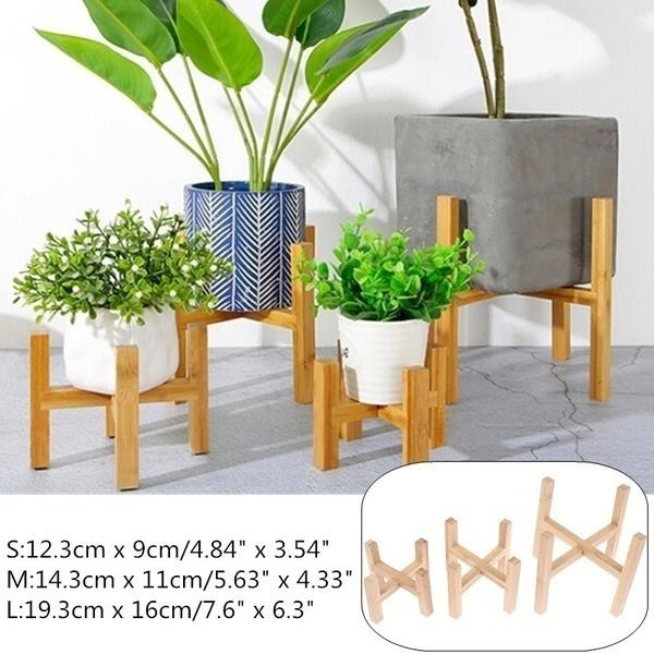 Bonsai, Wood, Flowers, flowerstand