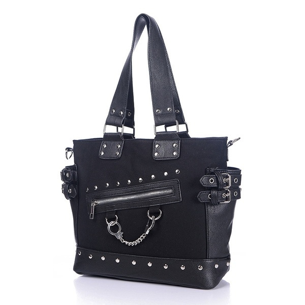 Shoulder Bags, Goth, Canvas, Chain