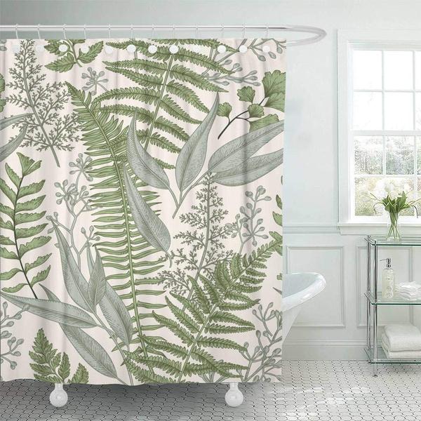 Shower, Plants, Fabric, Classics