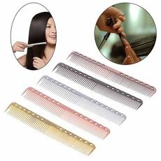 Combs, hairdressercomb, barberhairbrush, Aluminum