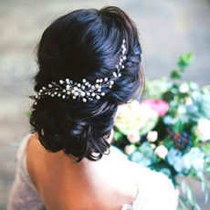 beautifulheaddres, headwear, Wedding, pearls