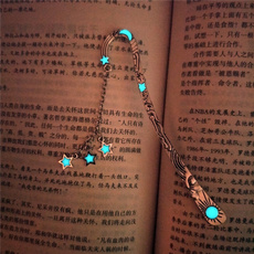 pentagrambookmark, vintagebookmark, moonbookmark, Bookmarks