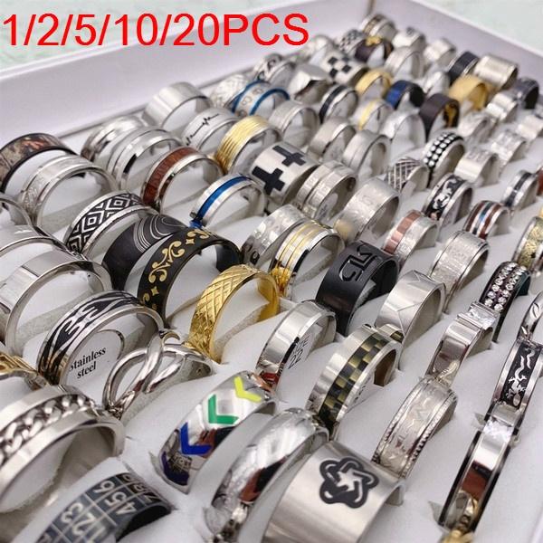 Steel, Stainless, Fashion, wedding ring