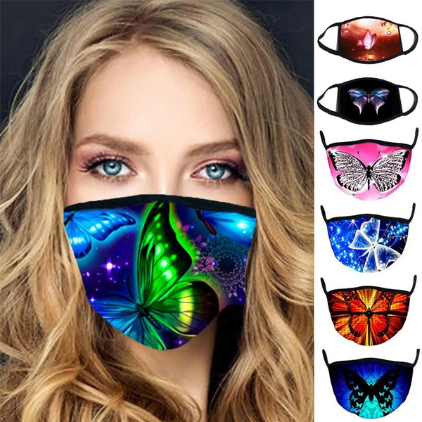 butterfly, Breathable, Masks, 3dmask