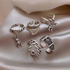 adjustablering, rabbitring, Jewelry, Chain
