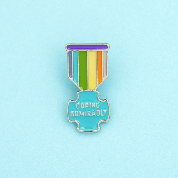 rainbow, colorfulbrooch, charmbrooch, Colorful