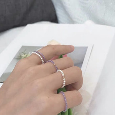 Fashion Accessory, stackablering, beadedring, Women Ring