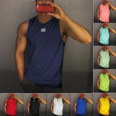 Summer, Vest, muscletop, Men's vest