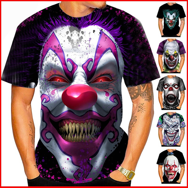 Summer, Fashion, Mens T Shirt, itclown