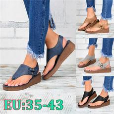 wedge, Fashion, summersandal, Womens Shoes
