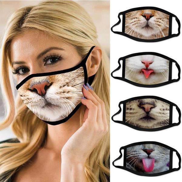 3dprintmask, womenmask, catprintfacemask, fashionmask