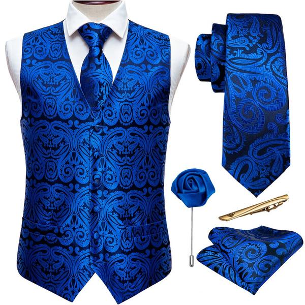 Blues, party, Fashion Man, boutonniere
