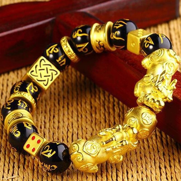 pixiu, golden, brave, Jewelry