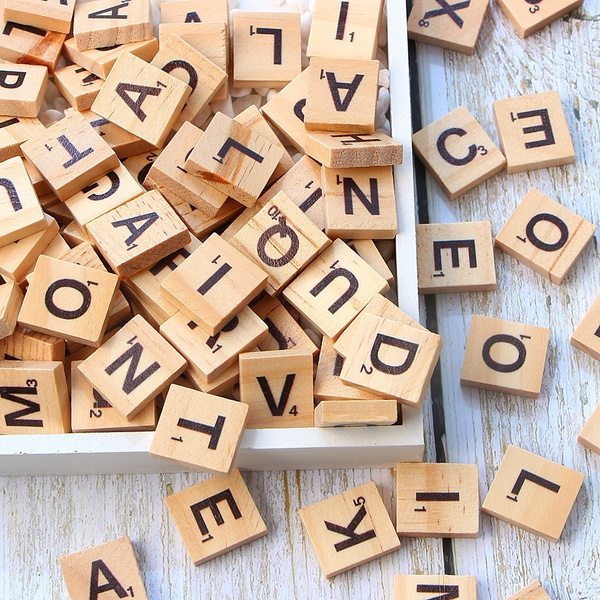 Toy, Letters, Wooden, alphabet