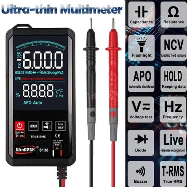 Flashlight, electronictester, voltagemeter, voltagecurrenttesting
