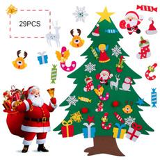 snowman, Door, Christmas, Gifts