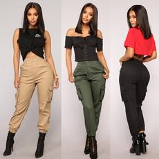 multibag, high waist, pants, Overalls