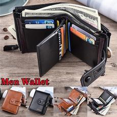 Shorts, Wallet, leather, Men