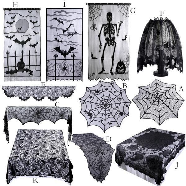 batlacecurtain, decoration, Bat, Fashion
