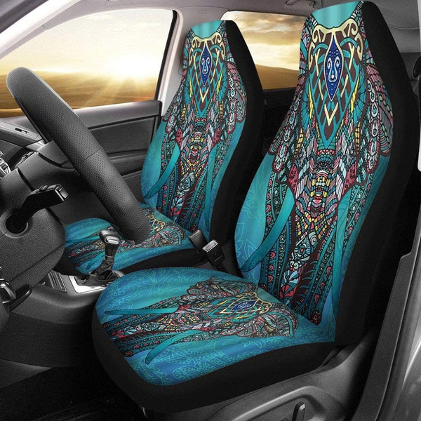 Blues, Polyester, carseatcoversset, interioraccessorie