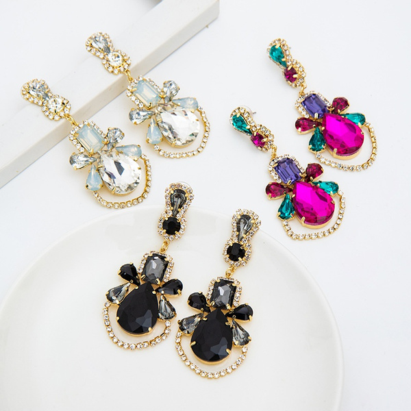 Women's Fashion & Accessories, Jewelry, Colorful, Crystal