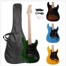 Blues, sky blue, bassguitarpart, Electric