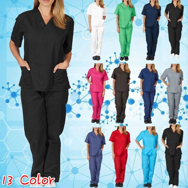 sleeve v-neck, workinguniform, Shorts, Sleeve