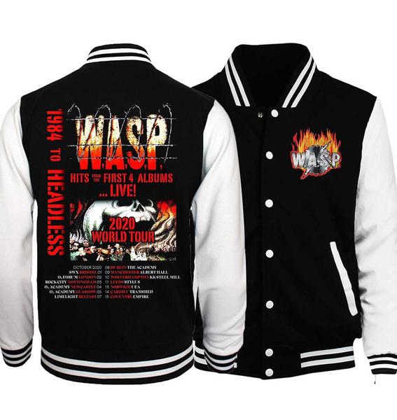 waspband, Casual Jackets, Fashion, 2020worldtour