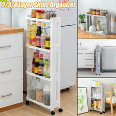 kitchenstoragerack, kitchentrolley, Baño, storageshelve
