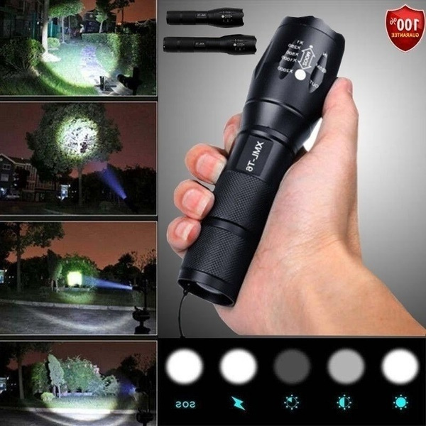 Flashlight, torchlight, Hiking, Outdoor