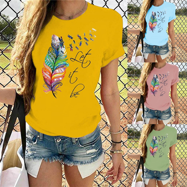 Tops & Tees, Fashion, Women Blouse, T Shirts