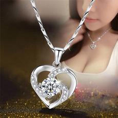 eternity, Heart, DIAMOND, Jewelry