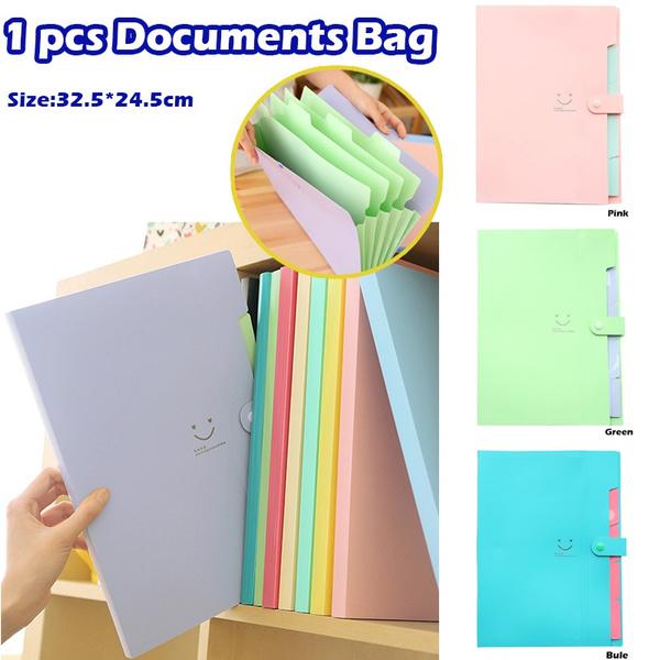 expandingfilefolder, Pouch, candy color, Bags