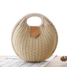 woven, Summer, shells, Handmade
